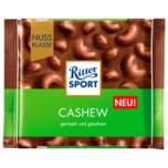 Ritter Sport Schokolade Cashew 100g