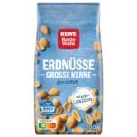 REWE Beste Wahl Erdnüsse grosse Kerne geröstet 200g