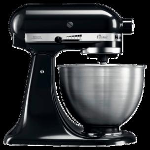 KitchenAid Classic 4,3l Küchenmaschine, schwarz matt