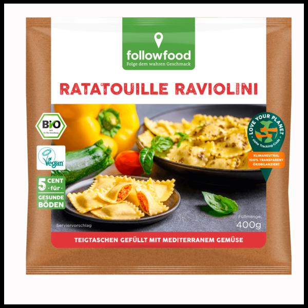 followfood Ratatouille Raviolini Bio vegan