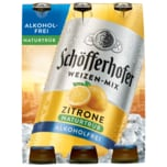 Schöfferhofer Weizen-Mix Zitrone alkoholfrei 6x0,33l