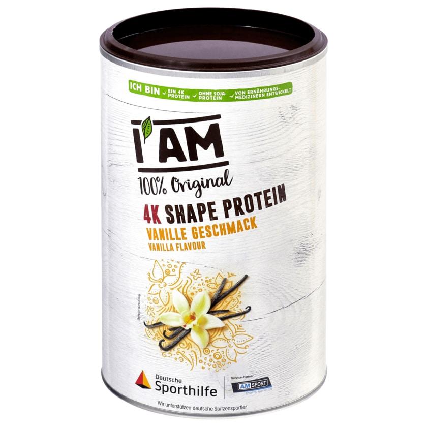 I am Sport 4k Shape Protein Vanille 390g