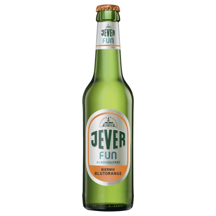 Jever Fun Biermix Blutorange alkoholfrei 0,33l
