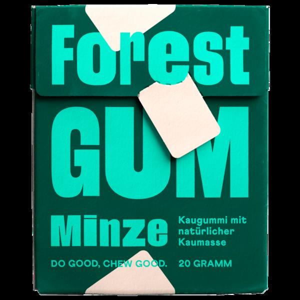 Forest Gum Kaugummi Minze 20g