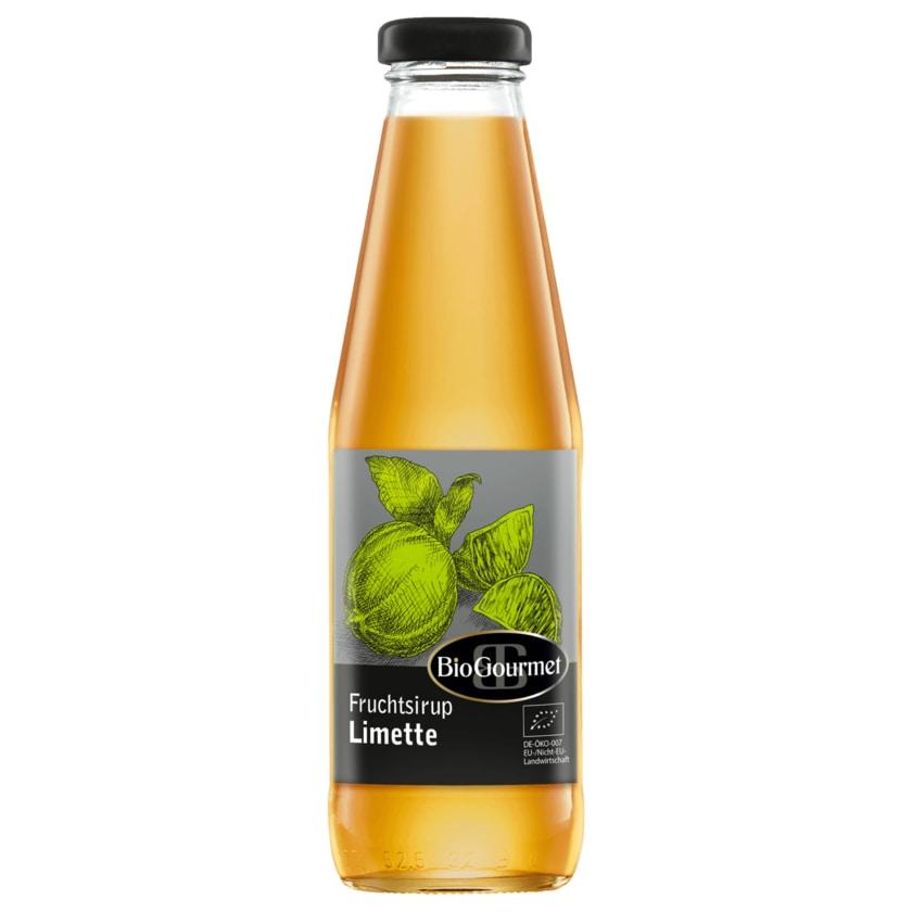 BioGourmet Fruchtsirup Limette 500ml