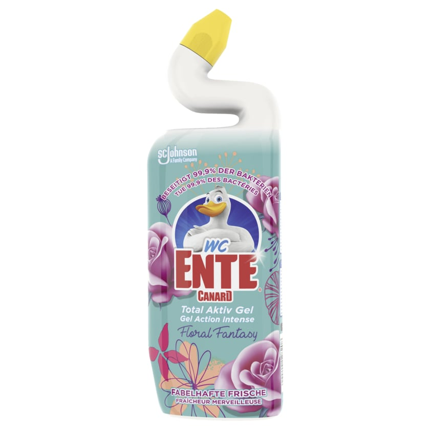 WC-Ente Total Aktiv Gel Floral Fantasy 750ml