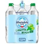 Rheinfels Quelle Limette-Minze 6x0,75l
