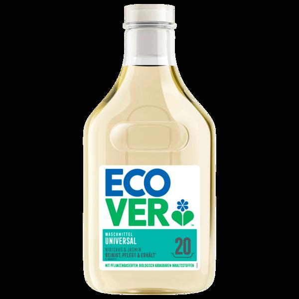 Ecover Waschmittel flüssig Hibiskus & Jasmin 1l, 20WL
