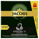 Jacobs Kaffeekapseln Espresso 12 Ristretto 114g, 22 Nespresso kompatible Kapseln