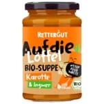 Rettergut Bio-Karottensuppe mit Ingwer 375ml