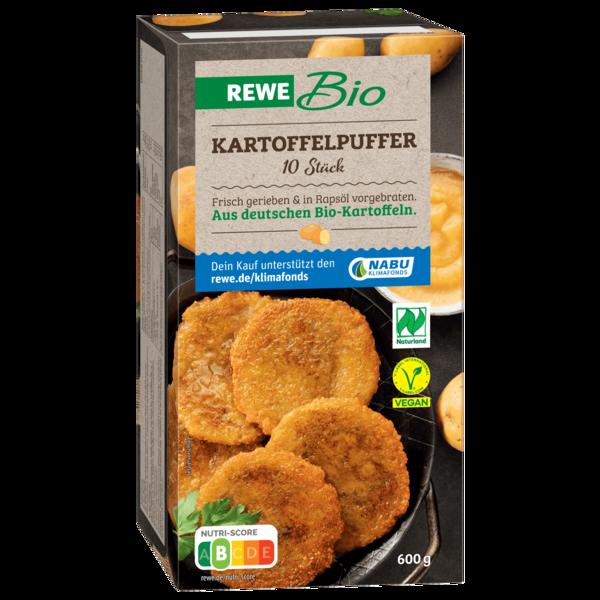 REWE Bio Kartoffelpuffer 600g, 10 Stück