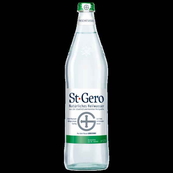 Gerolsteiner St Gero natürliches Heilwasser 0,75l