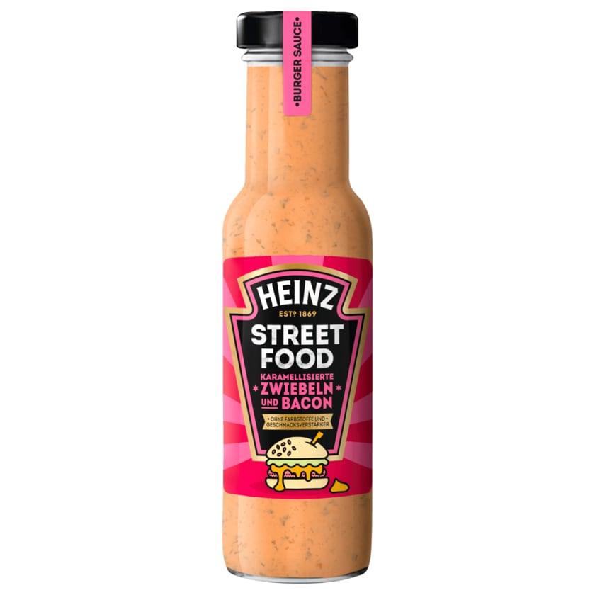 Heinz Street Food Karamellisierte Zwiebeln und Bacon 235ml