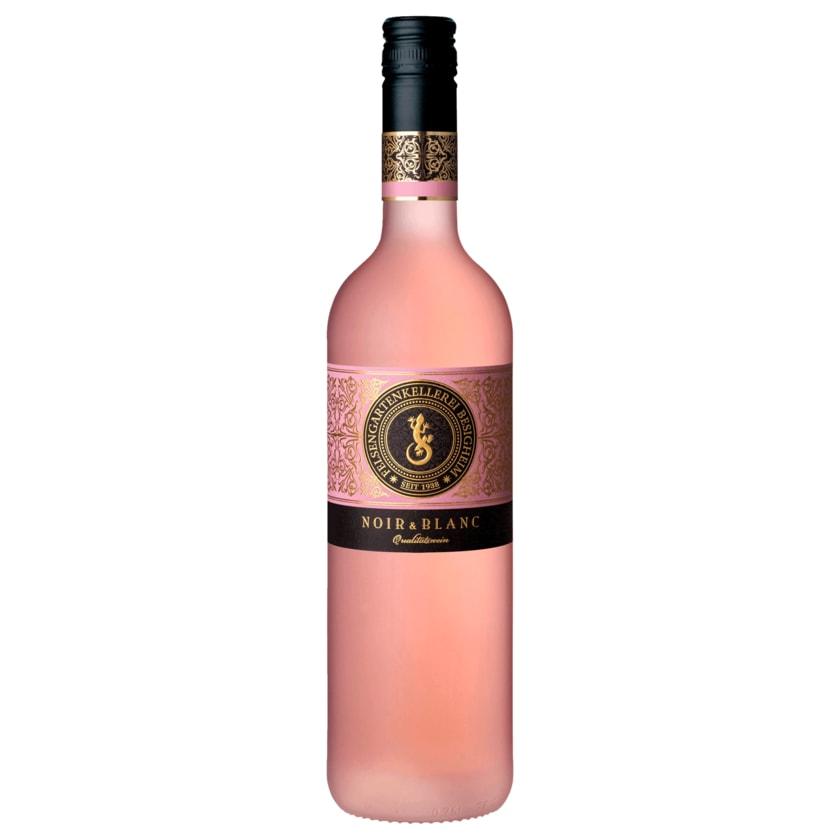 Felsengartenkellerei Besigheim Rosewein Noir & Blanc deutscher Qualitätswein feinherb 0,75l