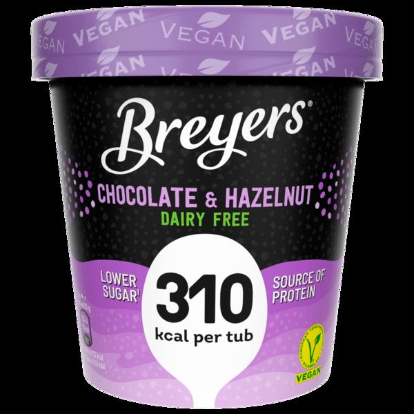 Breyers Chocolate & Hazelnut Eiscreme vegan 465ml