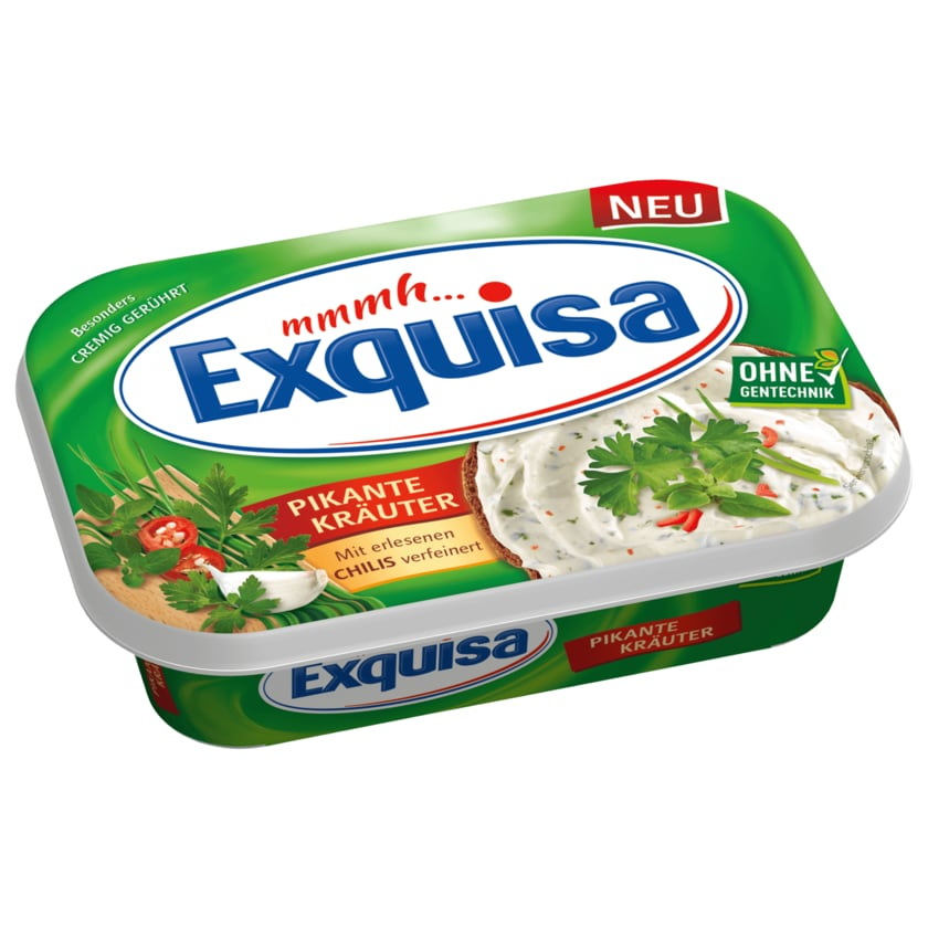 Exquisa Frischkäse pikante Kräuter 175g