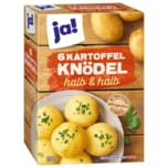 ja! 6 Kartoffel Knödel halb & halb 200g