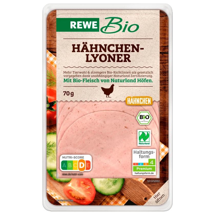 REWE Bio Hähnchen-Lyoner70g
