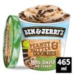 Ben & Jerry's Eis Peanut Butter & Cookies vegan 465ml