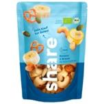 Share Bio Nuss-Frucht-Mix Banane & Brezel 125g