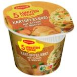 Maggi 5 Minuten Terrine Kartoffelbrei mit Erbsen & Möhren 43g