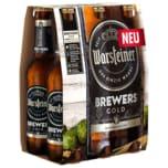 Warsteiner Brewers Gold 6x0,33l