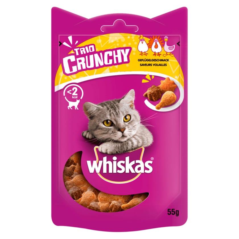 Whiskas Trio Crunchy Geflügelgeschmack 55g