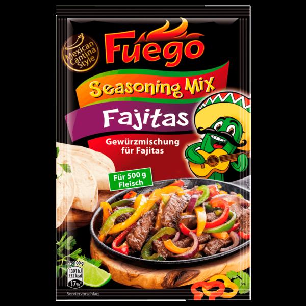 Fuego Seasoning Mix Gewürzmischung für Fajitas 35g