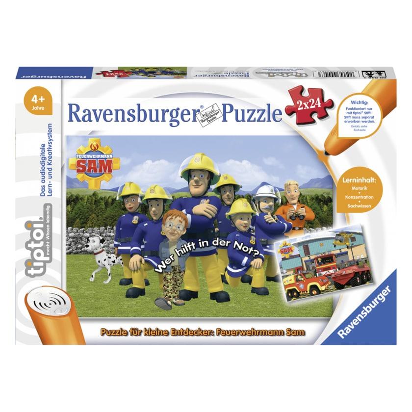 Ravensburger tiptoi Puzzle für kleine Entdecker: Feuerwehrmann Sam