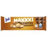 ja! Schokolade Maxxxi Toffee Ganznuss 300g