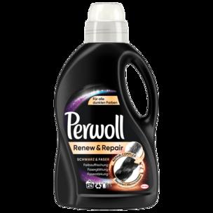 Perwoll Waschmittel Flüssig Renew & Repair Schwarz & Faser 1,44l, 24WL