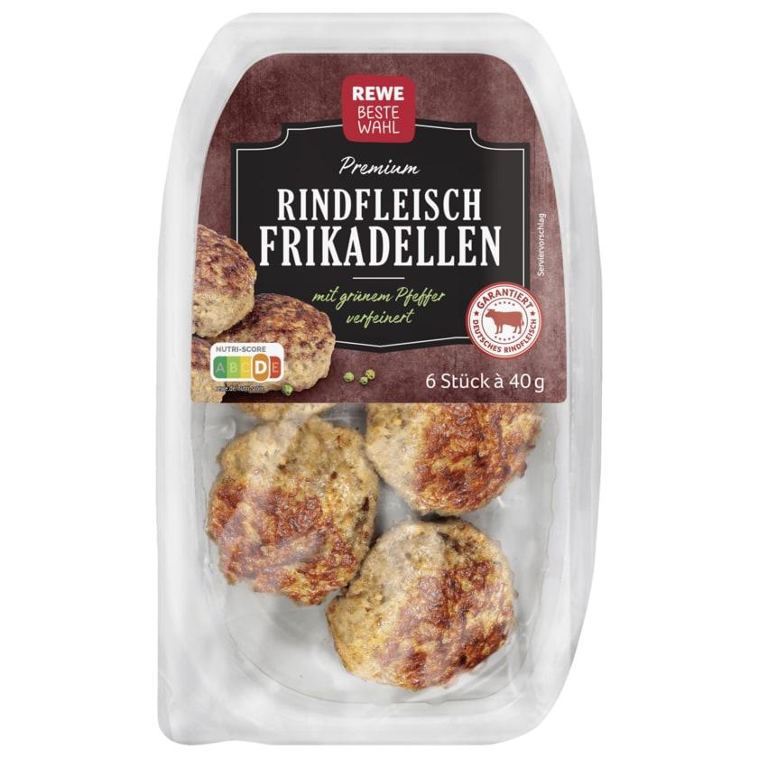 REWE Beste Wahl Premium Rindfleischfrikadellen 6x40g, 240g