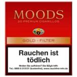Moods Premium Cigarillos Gold-Filter 20 Stück