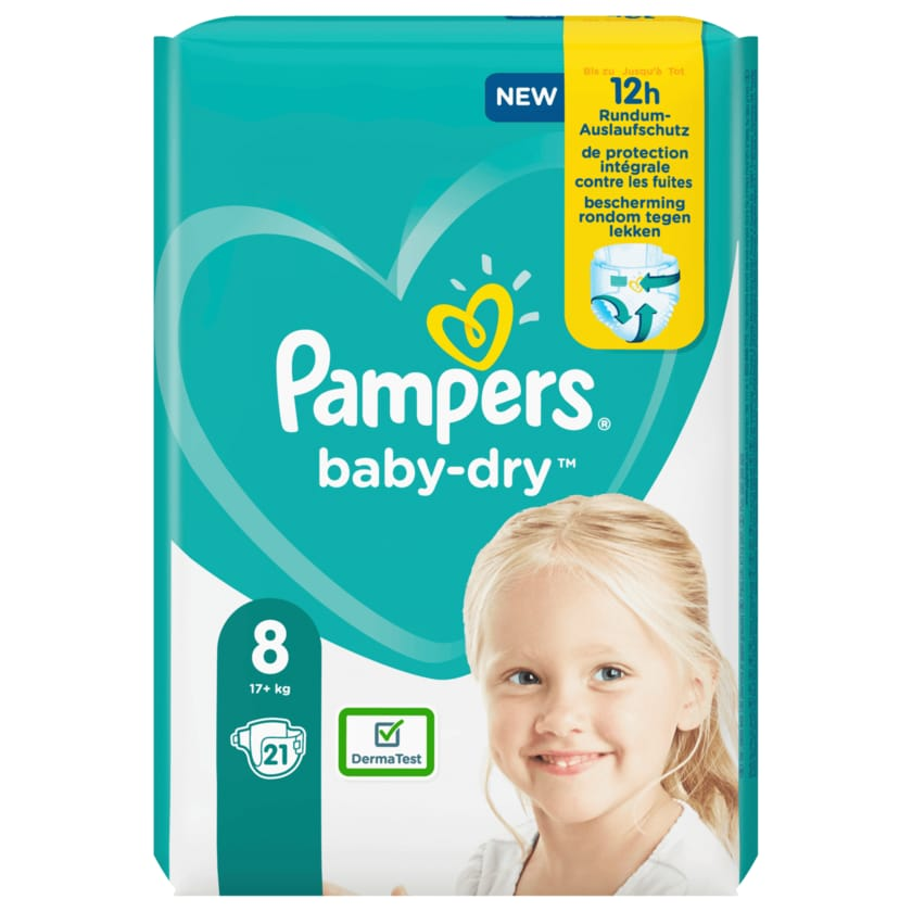 Pampers Baby Dry Gr.8 17+kg 21 Stück