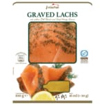 Arctic Seafood Graved Lachs mit edlem Dill-Rand und Senf-Honig-Sauce 100g
