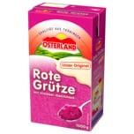 Osterland Rote Grütze mit Himbeer Geschmack 1000g
