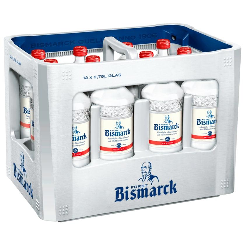 Fürst Bismarck Mineralwasser Medium 12x0,75l