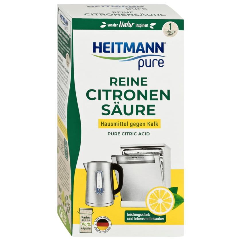 Heitmann Pure Reine Citronensäure 350g