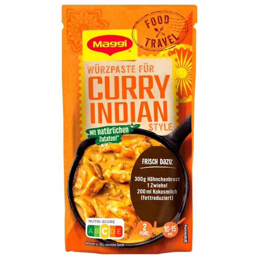 Maggi Food Travel Würzpaste für Curry Indian Style 65g