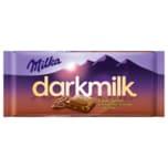 Milka Dark Milk Schokolade Kakao Splitter 85g