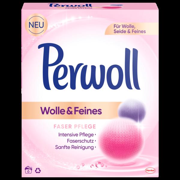 Perwoll Waschmittel Pulver Wolle & Feines 330g, 6WL