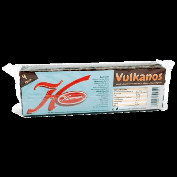 Hansematz Vulkanos Schaumzuckerwaffeln 4 Stück 120g bei