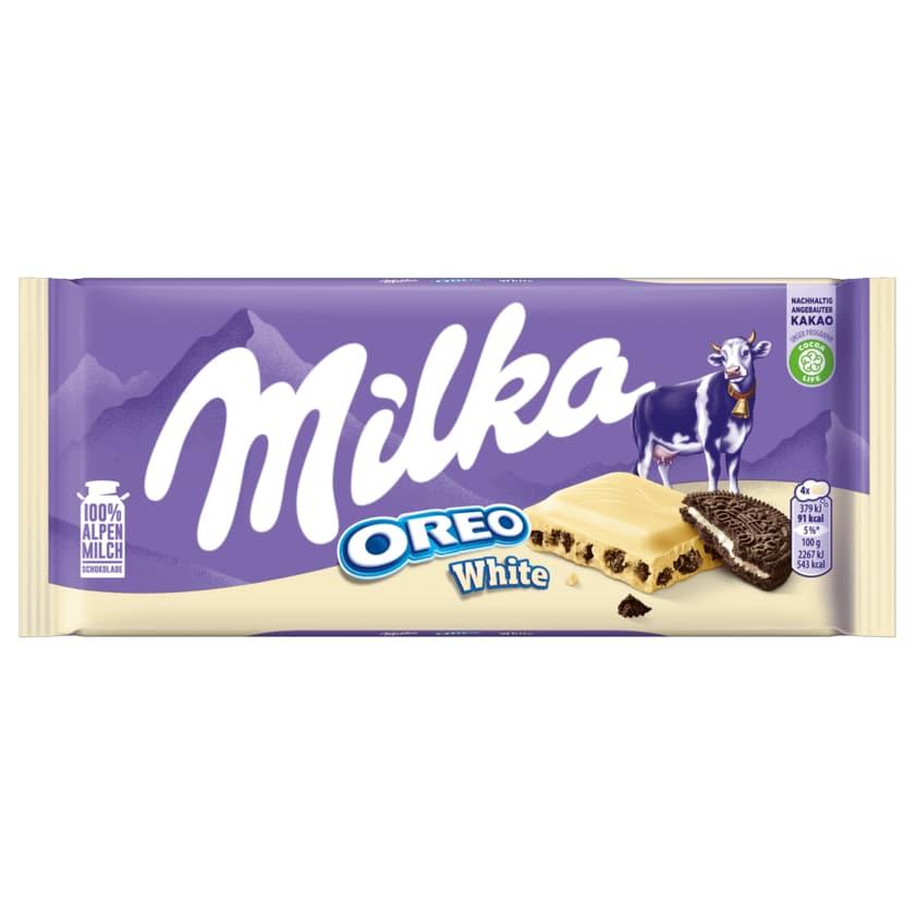 Milka Schokolade Oreo White 100g