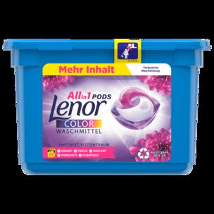 Lenor Colorwaschmittel Pods Amethyst Blütentraum 393g, 15WL