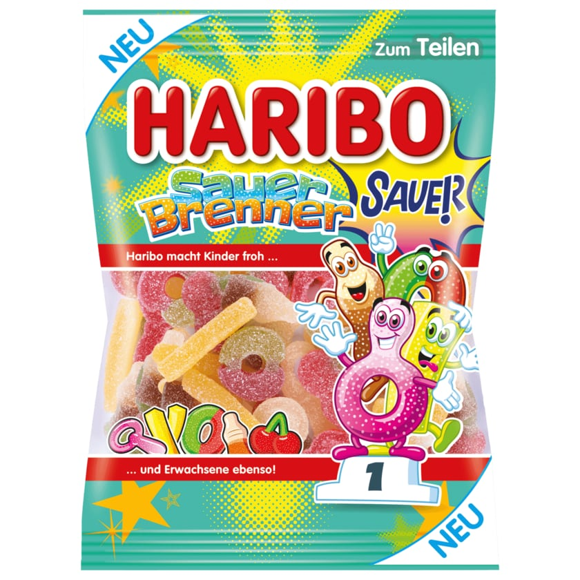 Haribo Fruchtgummi Sauer Brenner 175g