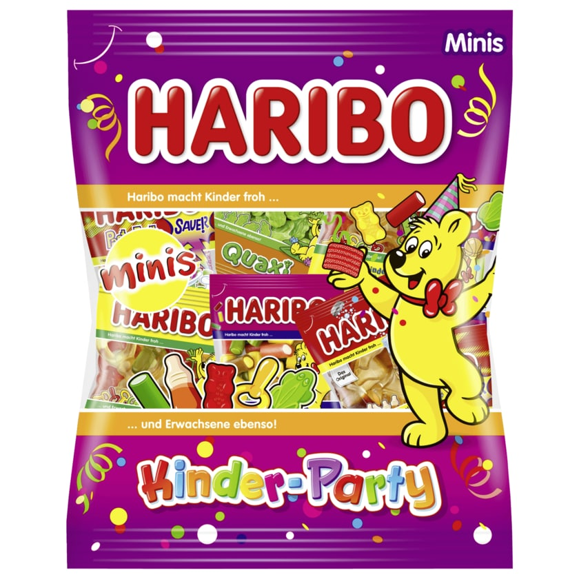 Haribo Fruchtgummi Minis Kinder-Party 250g