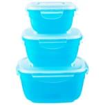 Lock&Lock Frischhaltedosen Blau 3er Set