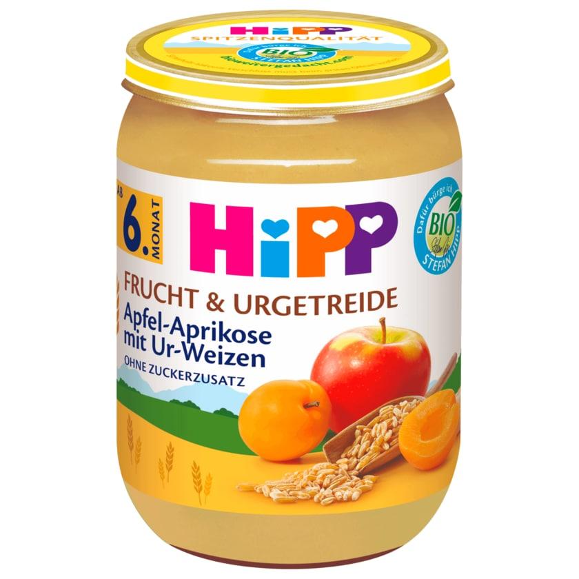 Hipp Apfel-Aprikose mit Ur-Weizen Bio 190g