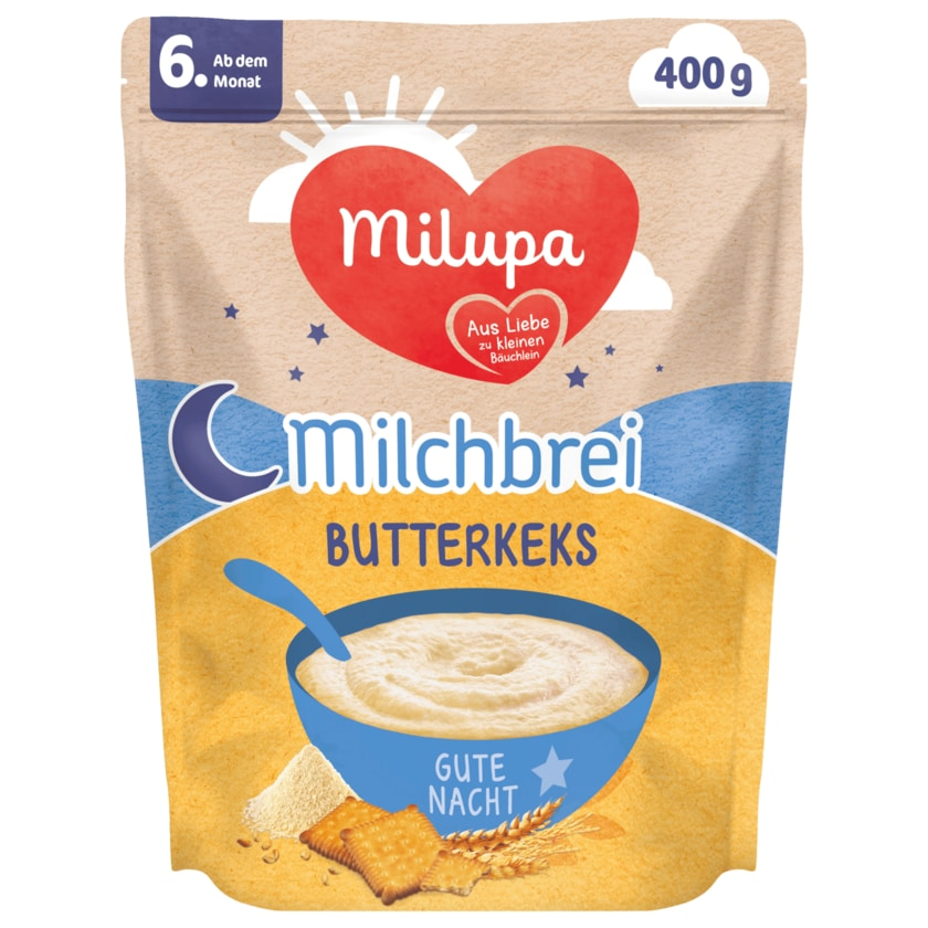 Milupa Milchbrei Butterkeks 400g