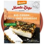 Monte Ziego Demeter Bio-Ziegen-Grill- und Ofenkäse Kräuter 150g